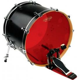 "Evans Hydraulic Red 22"" Bass Drum Batter Head"