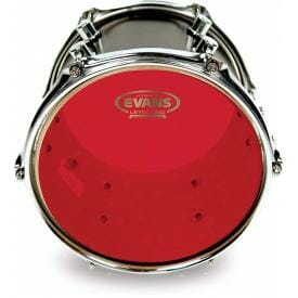 "Evans Hydraulic Red 18"" Tom Batter Head"