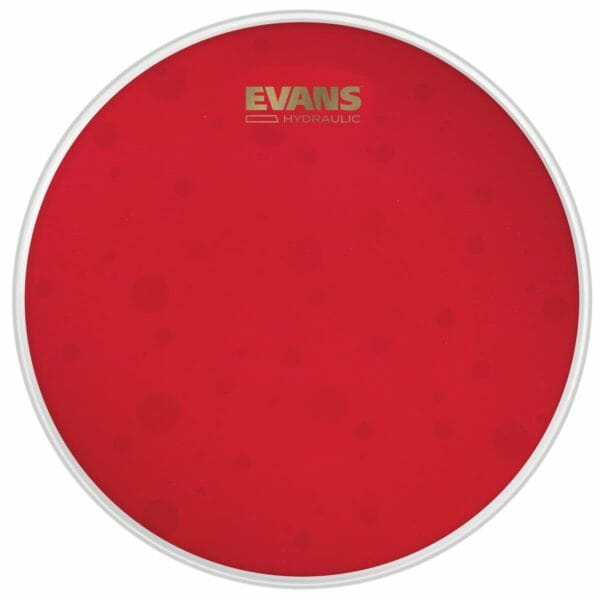 "Evans Hydraulic Red 8"" Tom Batter Head"