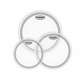 """EVANS EC2 FROSTED FUSION TOMPACK (10"""", 12"""", 14"""")"""