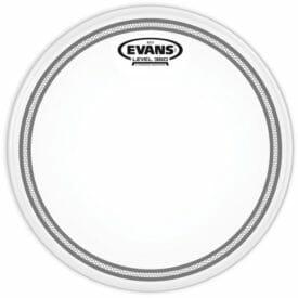 """Evans EC2 Frosted Tom Batter Drum Head 6"""""""