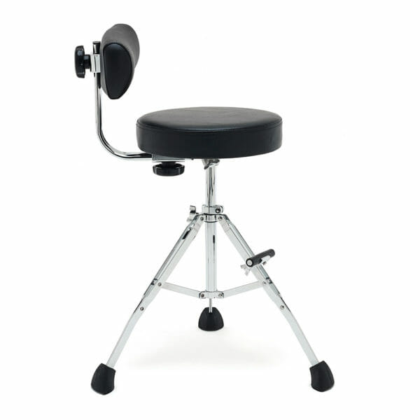 Gibraltar GGS10S Short 21″ compact performance stool, fold up tripod with foot rest