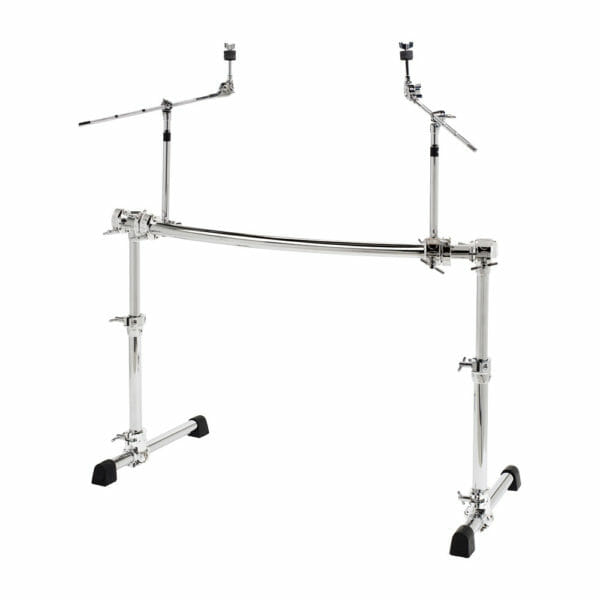 GIBRALTAR GCS500H Height Adjustable Curved Rack w/ 2 Cymbal Booms