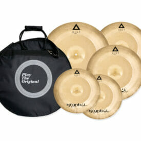Istanbul Agop Xist Power Cymbal Set - 4 Piece with Cymbal Case