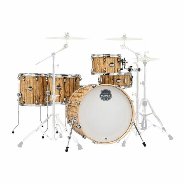 "Mapex Mars 22"" Retro fusion Crossover Drum Kit - Driftwood"