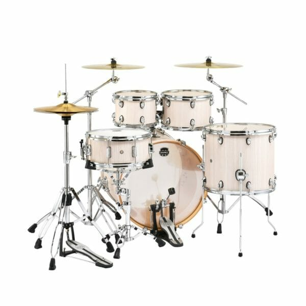 "Mapex Mars 22"" Rock Fusion Shell Pack - Bonewood - with HP6005 Hardware Pack Deal"