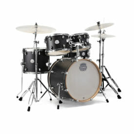 Mapex Storm Series Fast Fusion Drum Kit 20? Ebony Blue Wood Grain