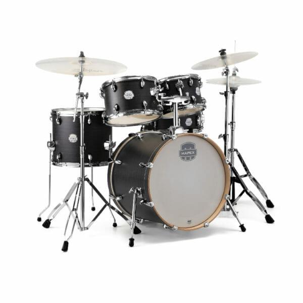 Mapex Storm Series Fast Fusion Drum Kit 20? Ebony Blue Wood Grain