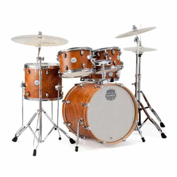 "Mapex Storm Series 22"" Rock Fusion Drum Kit - Camphor Wood Grain"