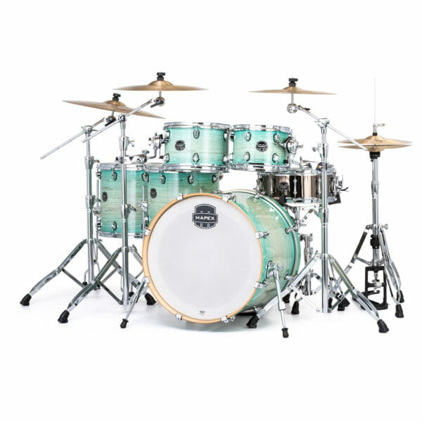 Mapex Armory AR628SFU-FG Studioease Drum Kit, Ultra Marine