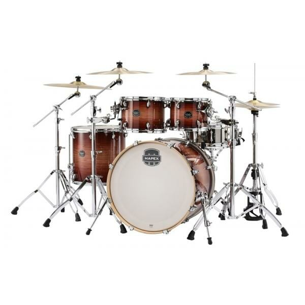 mapex-ar529s-armory-rock5 piece shell pack redwood