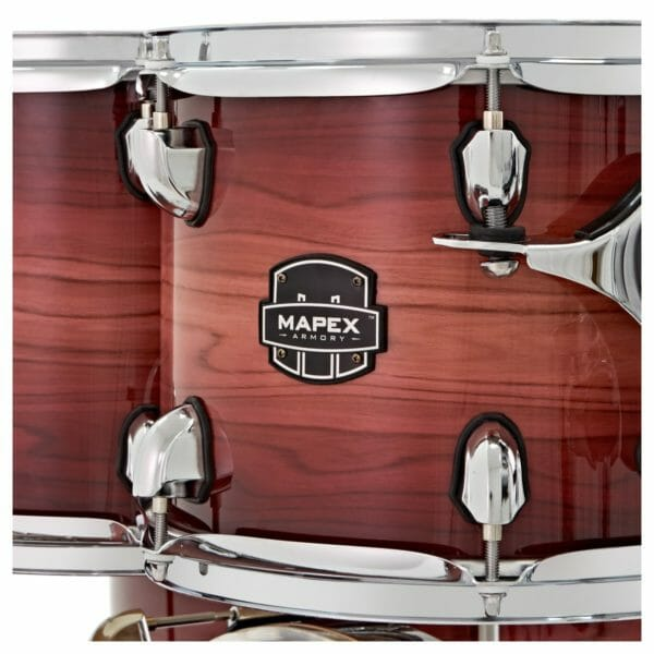 "Mapex Armory 22"" 5 Piece Rock Shell Pack - Redwood Burst"