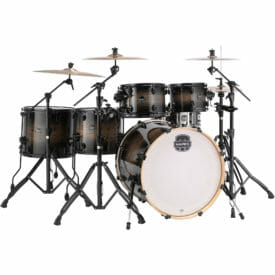 "Mapex Armory 22"" 6 Piece Studioease Drum Kit - Black Dawn"
