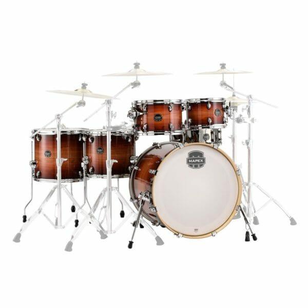 "Mapex Armory 22"" 6 Piece Studioease Drum Kit -redwood burst"