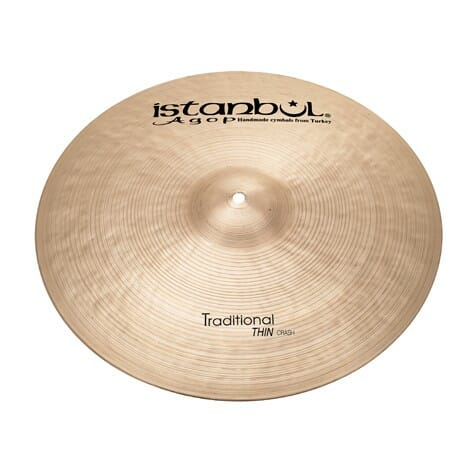 "Istanbul 19"" Traditional Thin Crash"