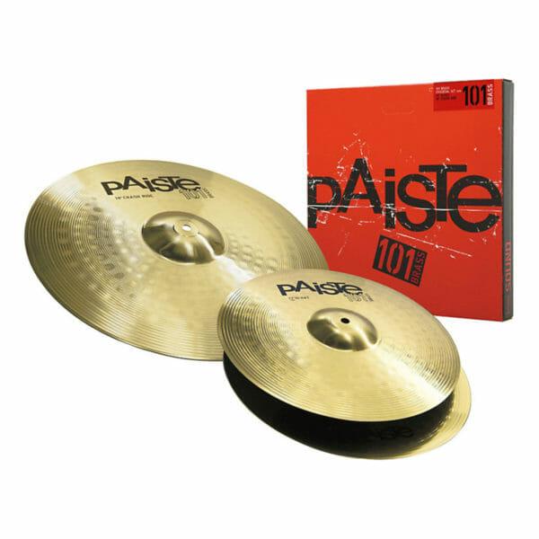 """Paiste 101 13/18"""" Brass Essentials Cymbal Pack"""