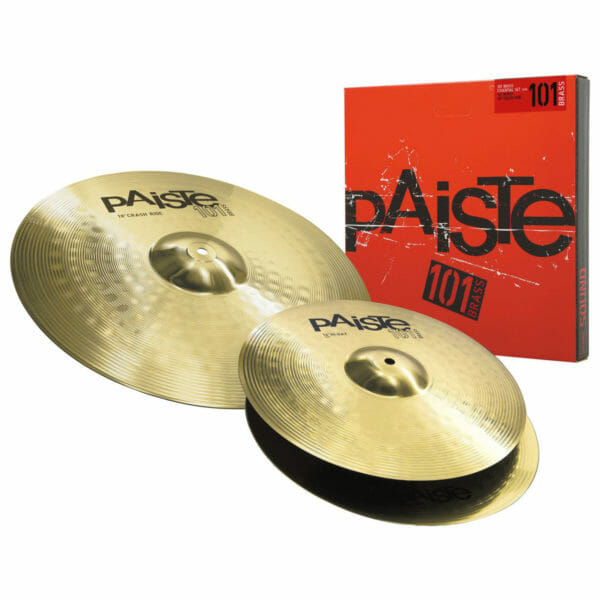 "Paiste 101 14/18"" Brass Essential Cymbal Pack"