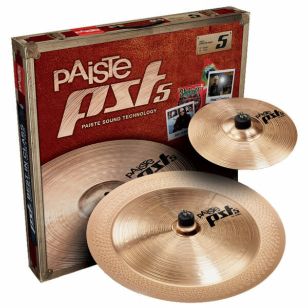 "Paiste PST5 10/18"" N Effects Cymbal Pack"