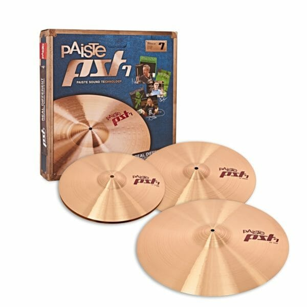 Paiste PST7 Medium Universal Cymbal Pack 14/16/20