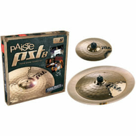 "Paiste PST 8 10/18"" Rock Effects Cymbal Pack"