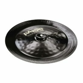 "Paiste 16"" 900 Colour Sound Black China Cymbal"