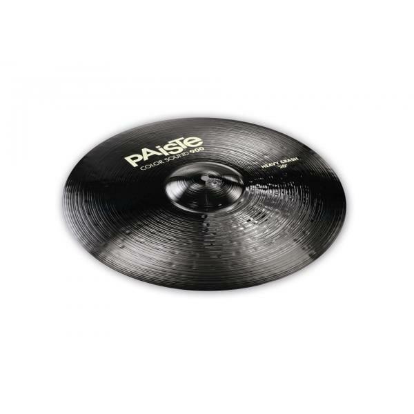 """Paiste 20"""" 900 Colour Sound Black Heavy Crash Cymbal"""