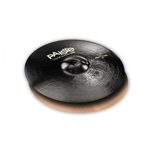 """Paiste 14"""" 900 Colour Sound Black Heavy Hi Hats"""