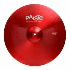"Paiste 17"" 900 Colour Sound Red Crash Cymbal"