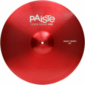 "Paiste 20"" 900 Colour Sound Red Heavy Crash Cymbal"