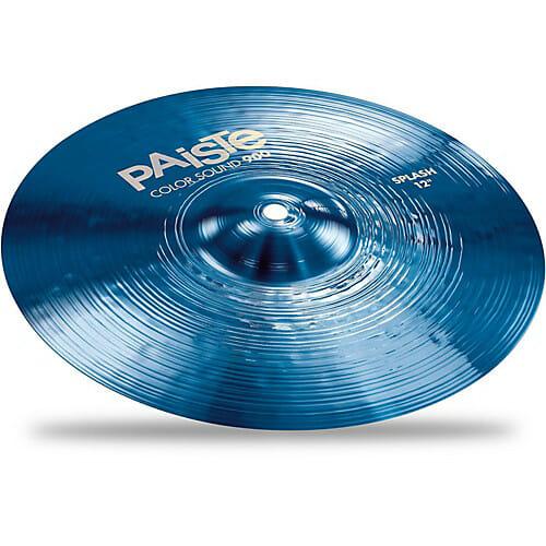 """Paiste 10"""" 900 Colour Sound Blue Splash Cymbal"""