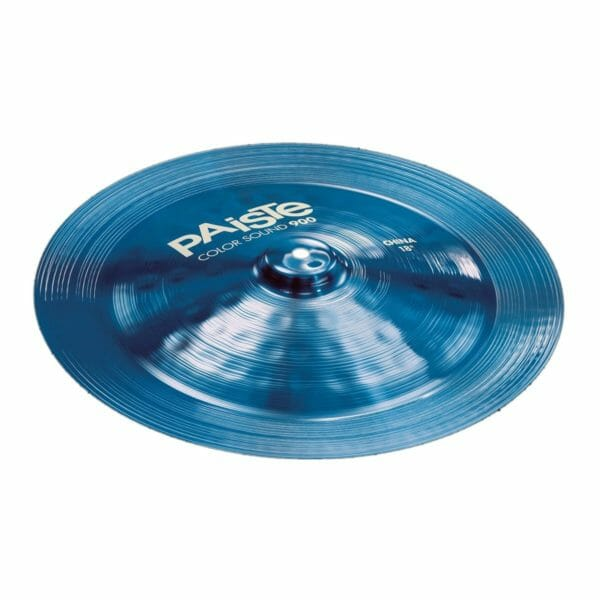 "Paiste 18"" 900 Colour Sound Blue China Cymbal"