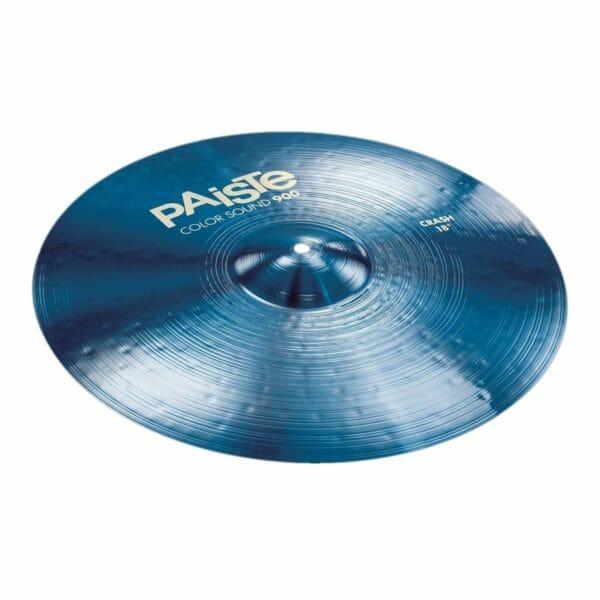 """Paiste 18"""" 900 Colour Sound Blue Heavy Crash Cymbal"""