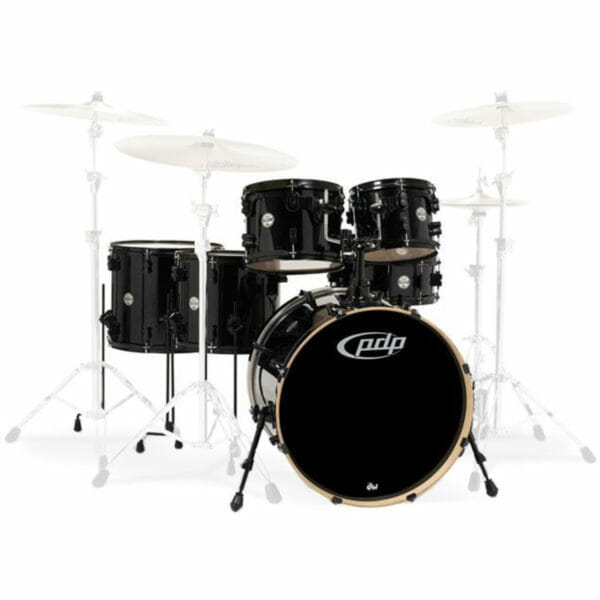 """PDP 22"""" 6 Piece Concept Maple Shell Set Pearlescent Black"""