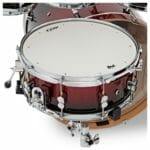 PDP 22 7 Piece Concept Maple Shell Set Red to Black Sparkle Fade 4