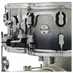 PDP 22 7 Piece Concept Maple Shell Set Silver to Black Sparkle Fade 2