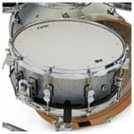 PDP 22″ 7 Piece Concept Maple Shell Set Silver to Black Sparkle Fade