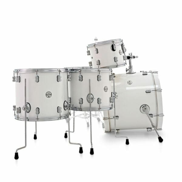 """PDP 22"""" 7 Piece Concept Maple Shell Set Pearlescent White"""