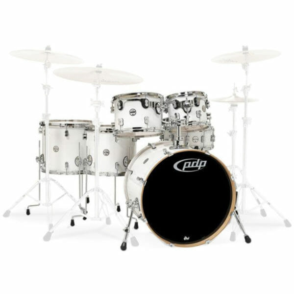 PDP 6 Piece Concept Maple Shell Set Pearlescent White