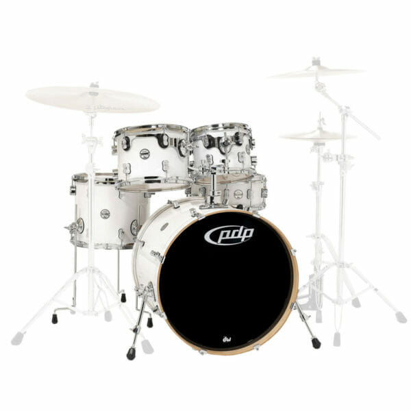 """PDP 22"""" Concept Maple Shell Set Pearlescent White"""