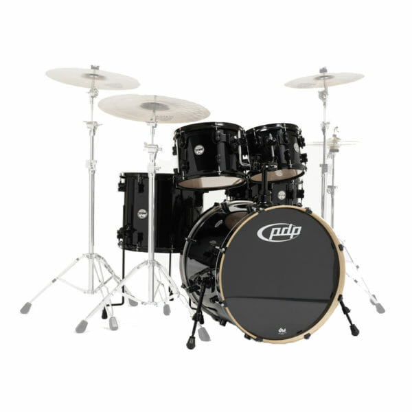 "PDP 5 Piece 22"" Shell Set Concept Maple Pearlescent Black"