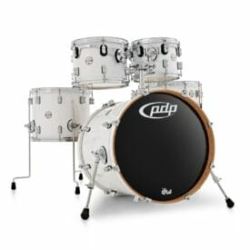 """PDP 20"""" 5 Piece Concept Maple Shell Pack Pearlescent White"""