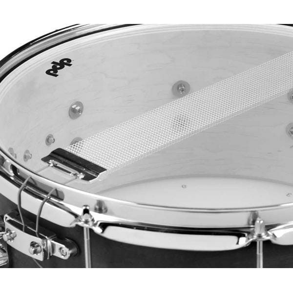 PDP Black Wax Maple Snare Drum 13 x 5.5""
