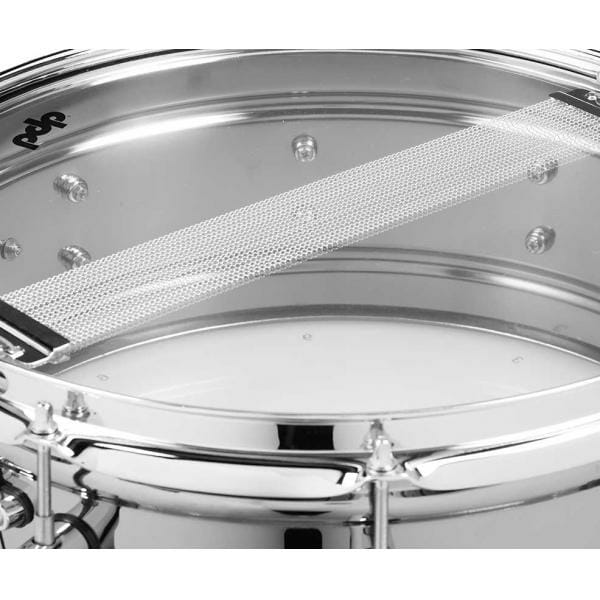 PDP Black Nickel Over Steel Snare Drum 14 x 5.5""