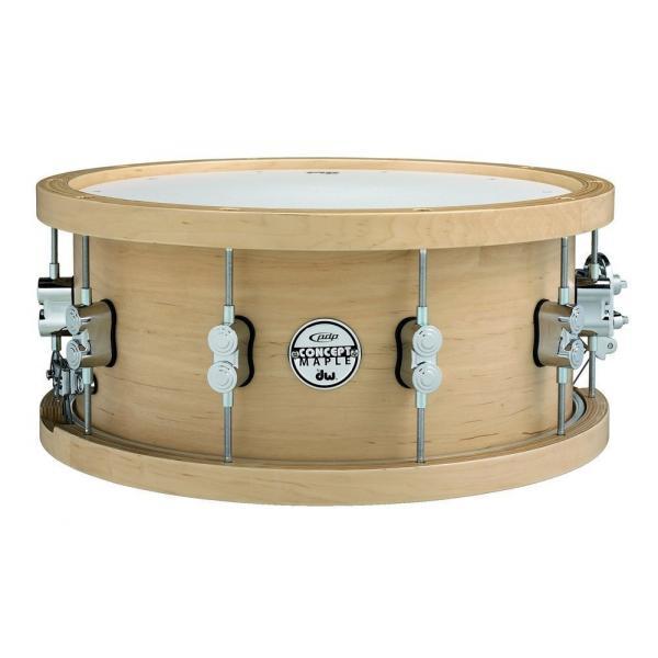 """PDP Concept Series Wood Hoop Snare Drum 14 x 6.5"""""""