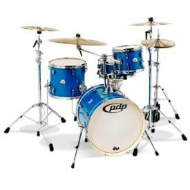 """PDP New Yorker 18"""" 4 Piece Shell Pack Sapphire"""