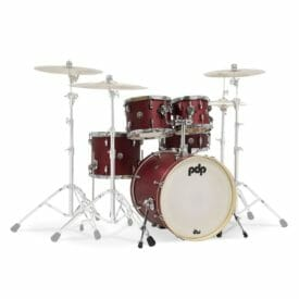 "PDP 20"" 5 Piece Shell Set Spectrum Series Cherry Satin"