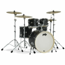 PDP Spectrum Series 22'' 4pc Shell Pack, Ebony Satin