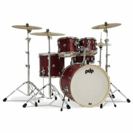 PDP Spectrum Series 22'' 5pc Shell Pack, Cherry Satin