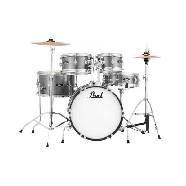 """Pearl Roadshow Jr 16"""" Kids Starter Drum Kit - Grindtone Sparkle"""