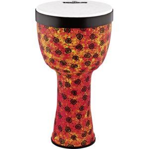 "Meinl Viva Rhythm Pop Off Djembe Boom Series 10"", Pre-Tuned Synthetic Head, Sunshine Finish"
